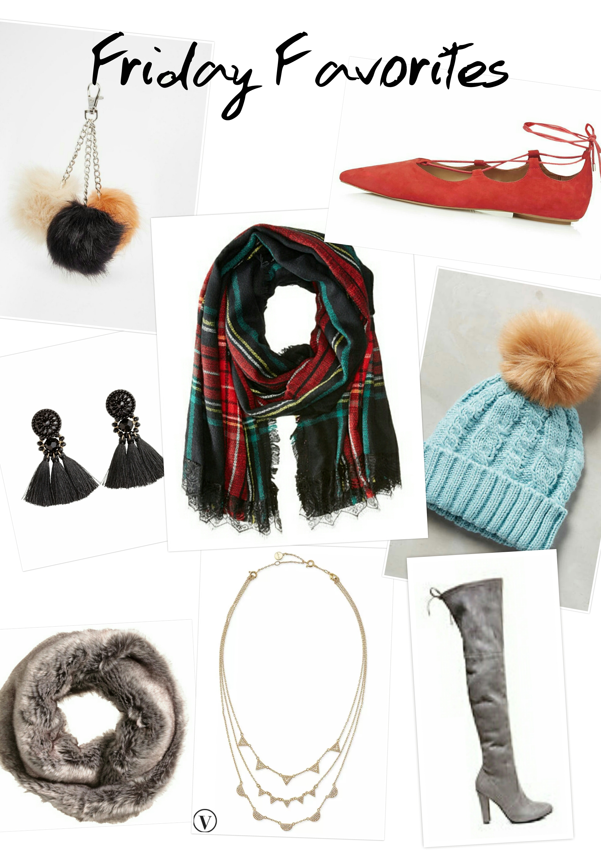 FRIDAY FAVORITES: WINTER ACCESSORIES
