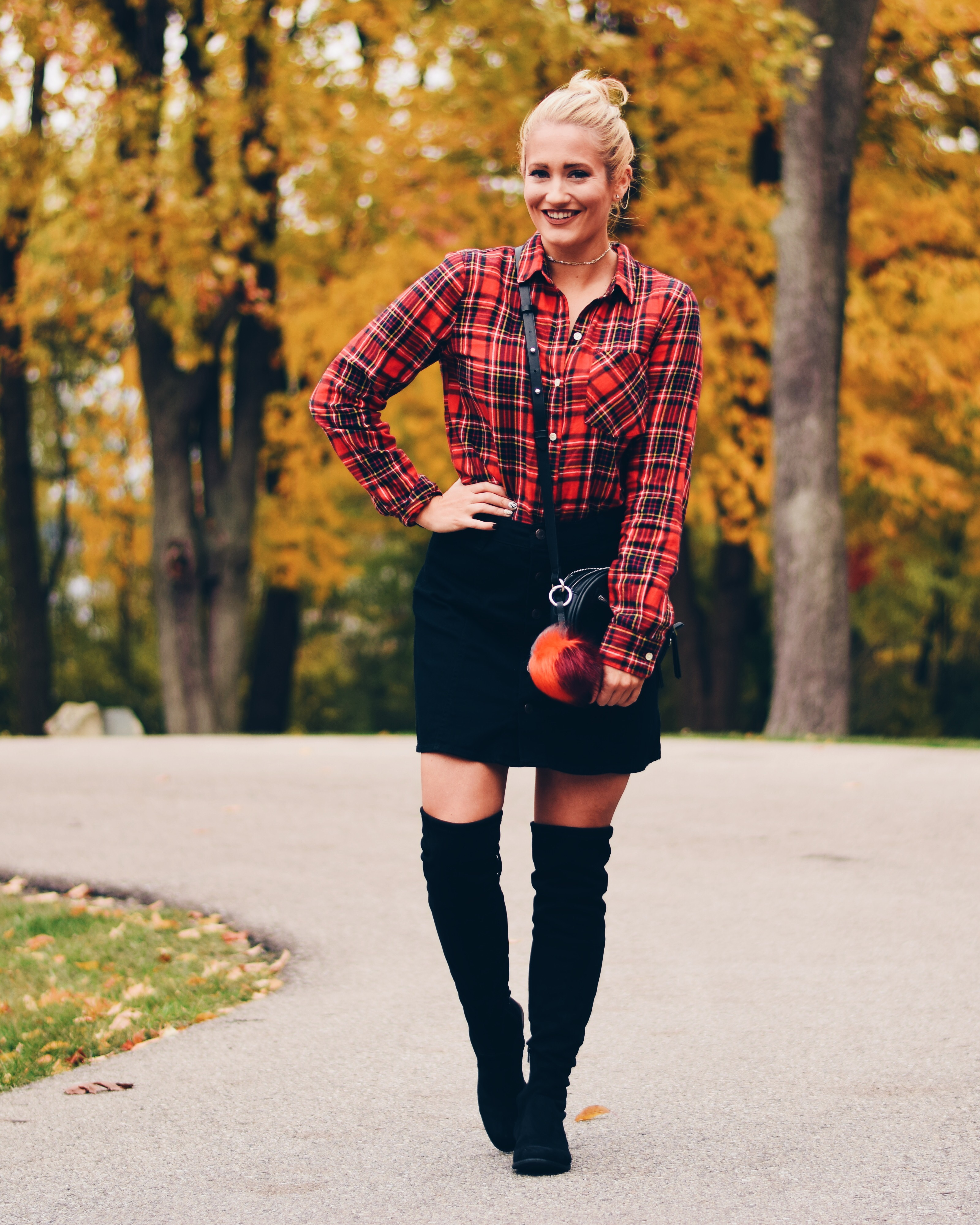 BLACK + PLAID