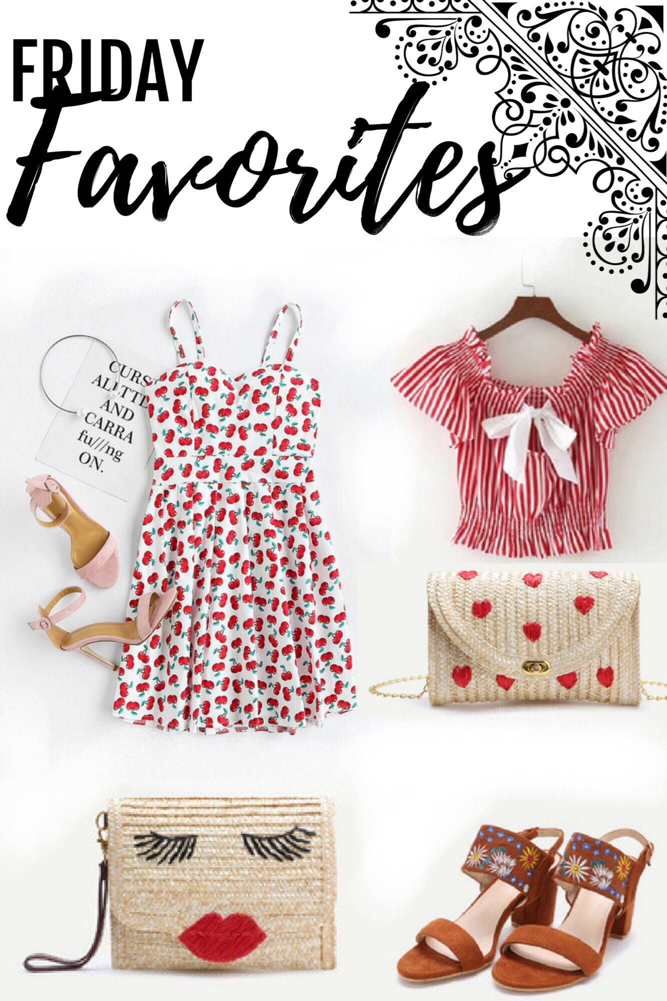 FRIDAY FAVORITES: SUMMER STYLE WISHLIST