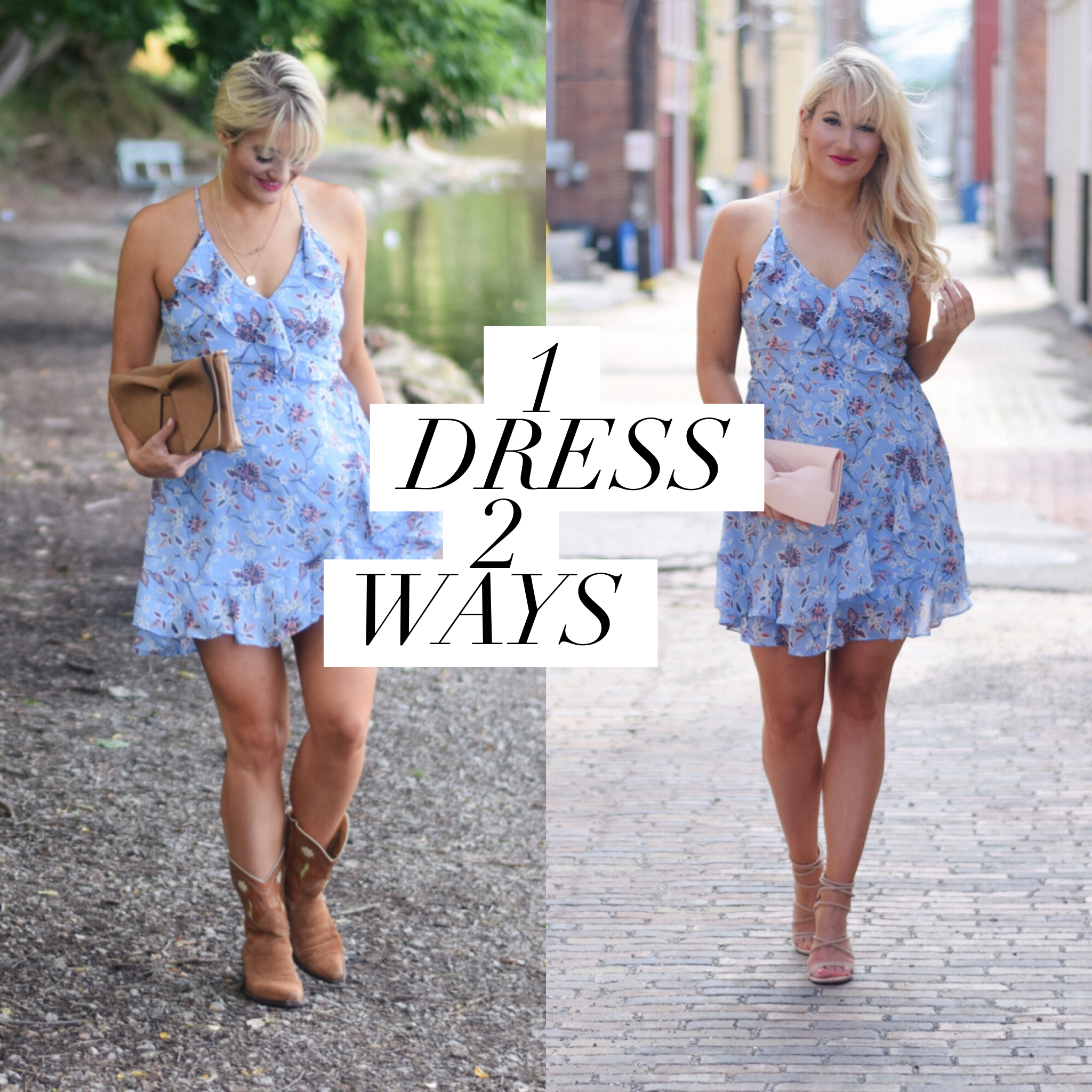 WEDDING SEASON | How to dress a sundress up or down
